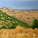 Redland Yurara Art Society - 'East Kimberley Landscape' - Lynne Wright - Acrylic - Painting - Major Spring Art Exhibition - Landscapes