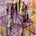 Redland Yurara Art Society - 'Entrance 2' - Georgie Usher - Acrylic - Painting - Major Spring Art Exhibition - Landscapes