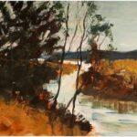 Redland Yurara Art Society - 'First Light' - Ray Hackett - Oil - Framed - Painting - Major Spring Art Exhibition - Landscapes