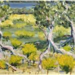 Redland Yurara Art Society - 'Gulf Mangroves' - Lynne Wright - Oil - Framed - Painting - Major Spring Art Exhibition - Landscapes