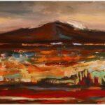 Redland Yurara Art Society - 'Mountain' - Elmarie Van Der Walt - Acrylic - Painting - Major Spring Art Exhibition - Landscapes