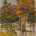 Redland Yurara Art Society - 'Redlands Wetlands' - Robin Wilson - Acrylic - Painting - Major Spring Art Exhibition - Landscapes