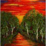 Redland Yurara Art Society - 'Reflections' - Tarja Rantala - Acrylic - Painting - Major Spring Art Exhibition - Landscapes
