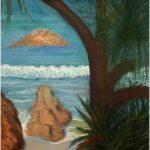 Redland Yurara Art Society - 'Stradbroke Island Dreaming' - Anna McCallum - Pastel - Painting - Major Spring Art Exhibition - Landscapes