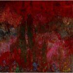Redland Yurara Art Society - 'Sunset' - Elmarie Van Der Walt - Acrylic - Painting - Major Spring Art Exhibition - Landscapes