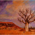 Redland Yurara Art Society - 'The Boab' - Arja Tossavainen - Oil - Painting - Major Spring Art Exhibition - Landscapes