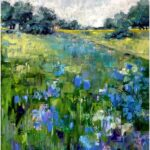 Redland Yurara Art Society - 'Wambiana Spring' - Gillian Goldsworthy - Acrylic - Painting - Major Spring Art Exhibition - Landscapes