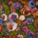 Redland Yurara Art Society - 'Bouquet' - Gillian Goldsworthy - Acrylic - Painting - Art Exhibition - Florals