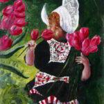 Redland Yurara Art Society - 'Carolien' - John Holmes - Acrylic - Painting - Art Exhibition - Florals