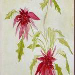Redland Yurara Art Society - 'Floating' - Rosie Sheehan - Watercolour - Painting - Art Exhibition - Florals
