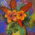 Redland Yurara Art Society - 'Love' - Helen Boydell - Mixed Media - Painting - Art Exhibition - Florals