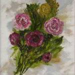 Redland Yurara Art Society - 'Twelve Minute' - Ray Hackett - Oil - Painting - Art Exhibition - Florals